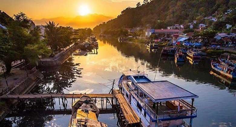 Melihat-Sunset-di-Jembatan-Siti-Nurbaya-New