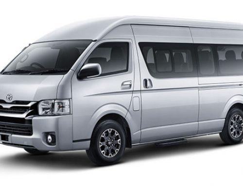 Sewa Mobil Toyota Hiace Padang