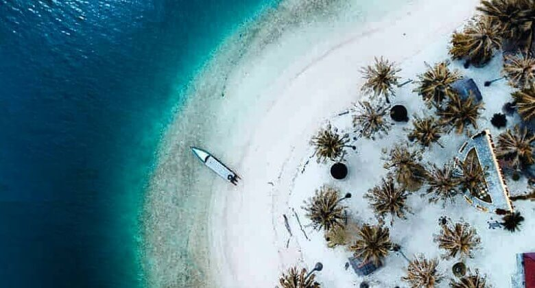 Pulau Pasumpahan Padang Sumatera Barat