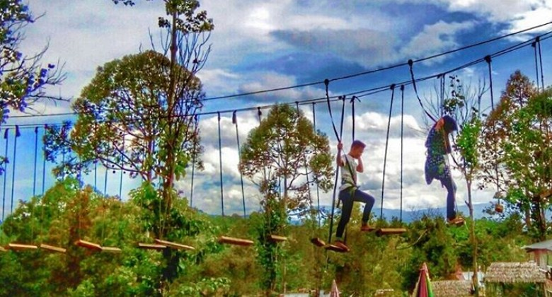 Rumah Pohon Laing Park Solok