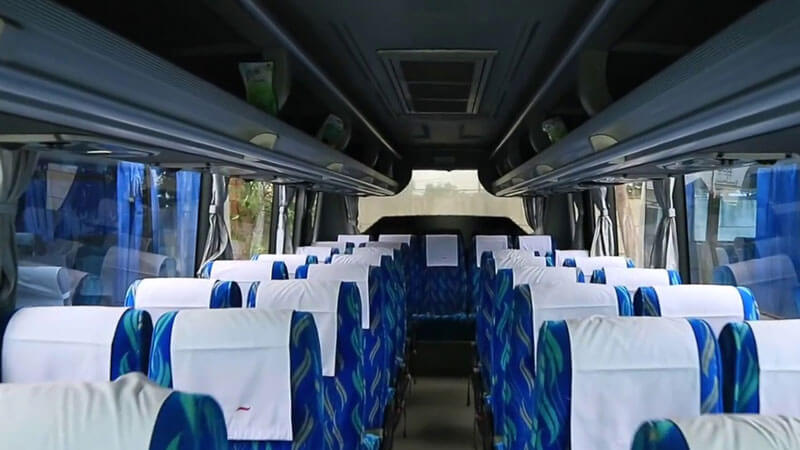 interior medium bus