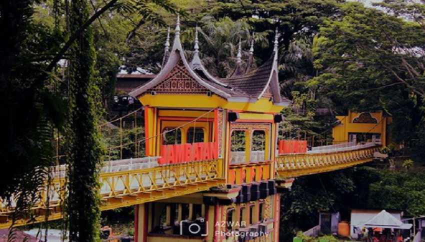 jembatan limpapeh, Kota Bukit tinggi Sumatera Barat