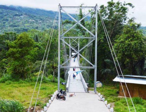 Nagari Tabek Sarojo, Jembatan Gantung Terpanjang di Agam