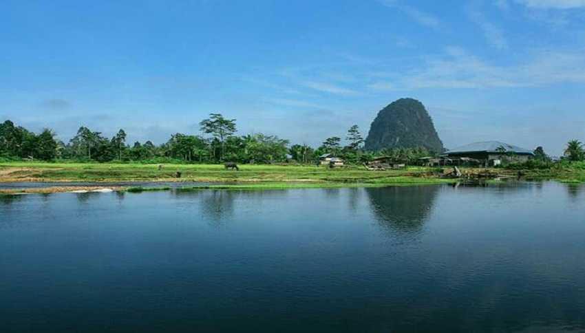 tempat wisata bukik bulek taram