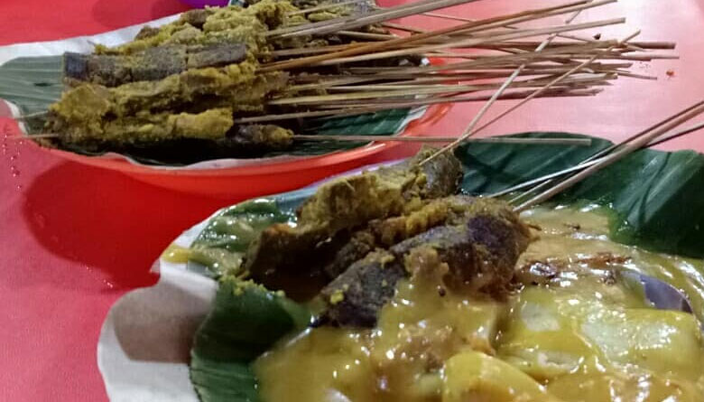 Sate Danguang Danguang Bukittinggi
