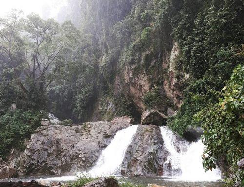 Timbulun Waterfall yang Sunyi, Menenangkan, dan Alami