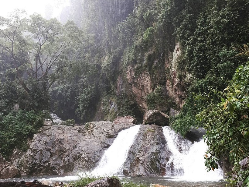 timbulun waterfall