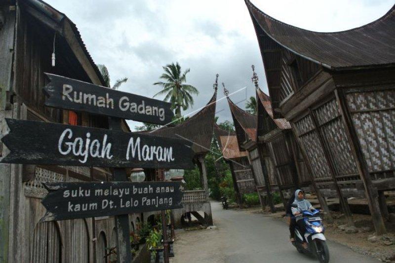 kawasan saribu rumah gadang minangkabau